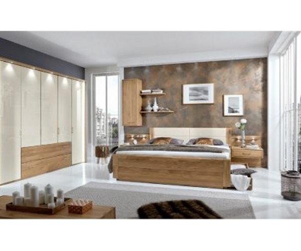 Schlafzimmer Eiche, Absatz: Glas Magnolie