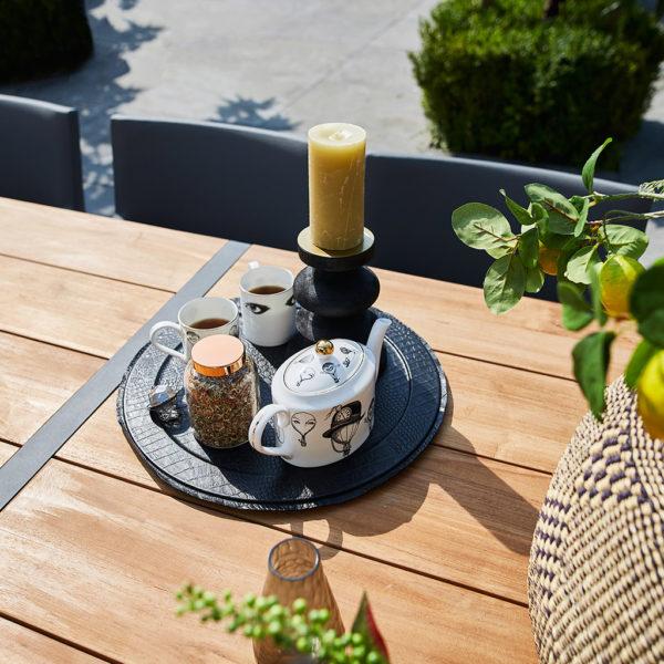 SUNS Esstischgruppe Ovada & Stuhl Felice – Sofort verfügbar!