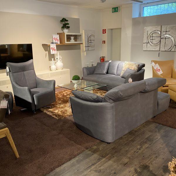 activineo 3-Sitzer – Recamiere, Sessel und Hocker! *Direkt verfügbar*