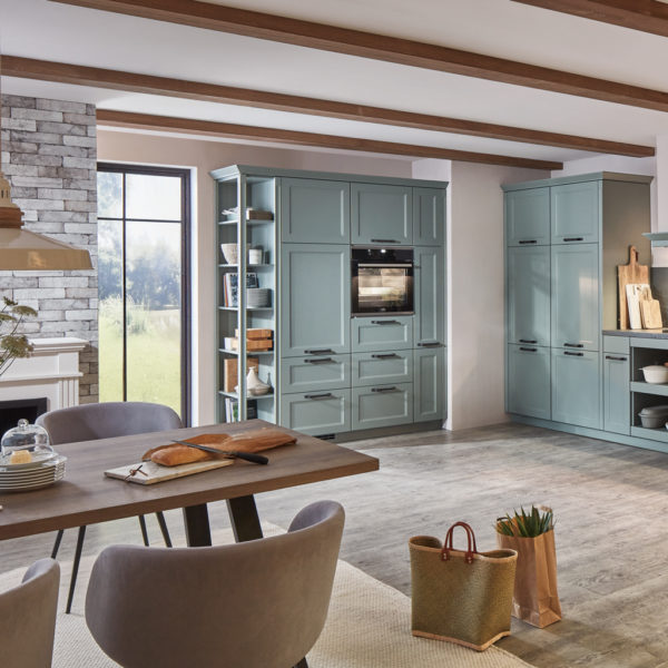 nobilia® Wohnküche im Landhausstil Cascada