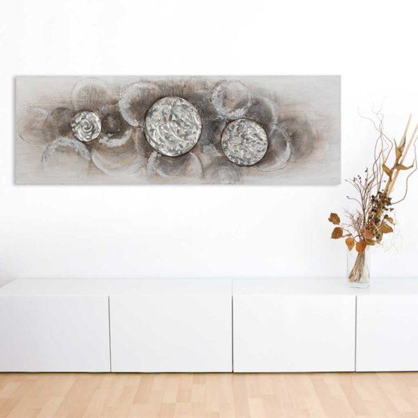 Imageland Bild Silberne Seifenblasen