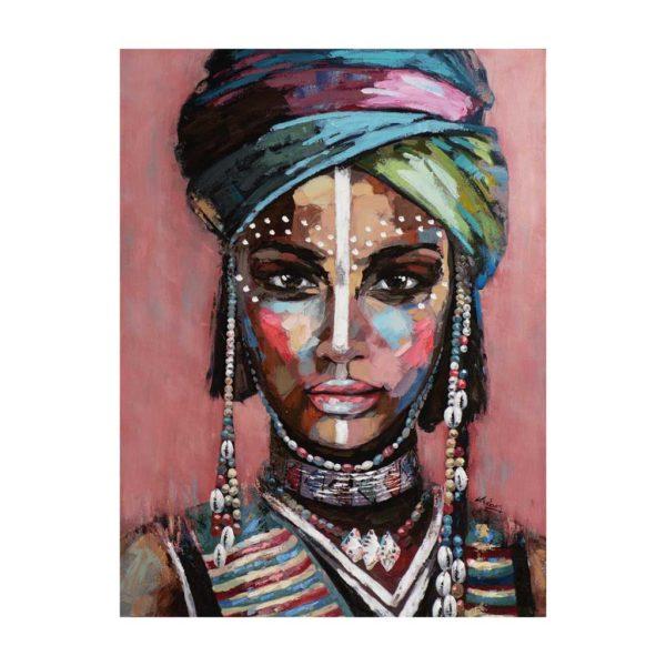 Imageland Bild Wüstenfrau mit Turban