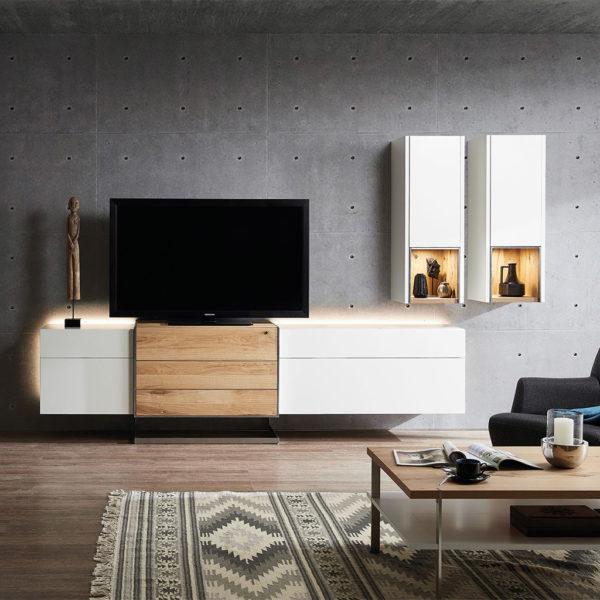 Die Hausmarke Wohnwand Media Design