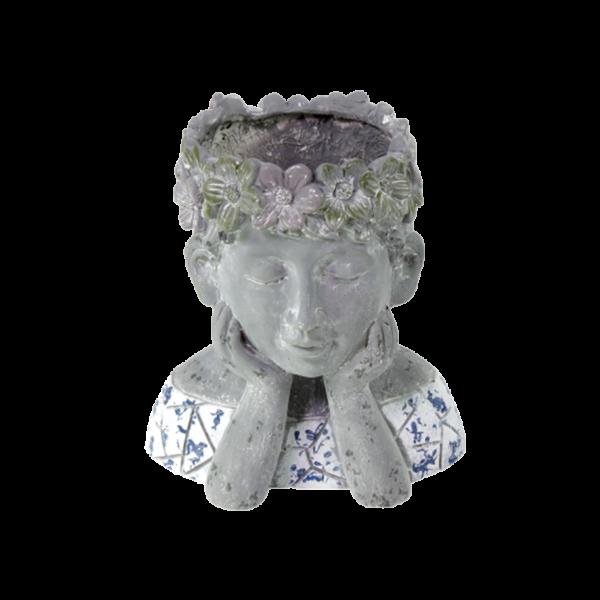 Blumentopf Blumenmädchen